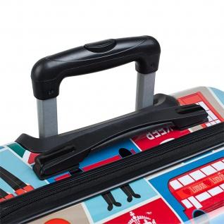 Itaca Hartschale Reisekoffer 74Cm Bedrucktes Polykarbonat 4 Rollen Reisegepäck Koffer 702170 - Vorschau 2