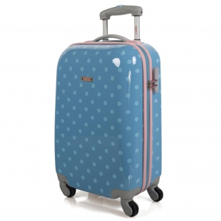 SKPAT Hartschale Reisekoffer 55 Cm Bedrucktes Polykarbonat Kabinengepäck Handgepäck 66450