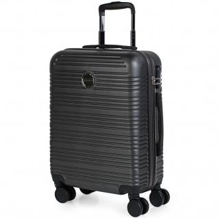 Itaca Hartschale Reisekoffer 55X40x20 Cm ABS, 4 Rollen. Kabinengepäck. Handgepäck. Robuster, Bequem Und Leichter Koffer. T72150