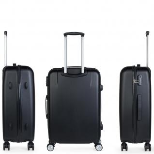 Itaca 3Er Hartschalen Kofferset 55/61/71 Cm ABS. 4 Rollen. Reisekoffer. Hängeschloss. Kleine Koffer, Mittlere Und Große. T58000 - Vorschau 4