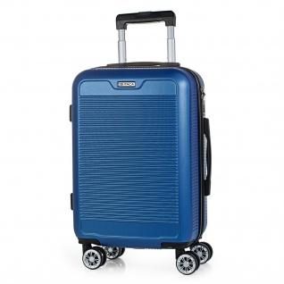 Itaca Hartschale Reisekoffer 55X38x20 Cm ABS, 4 Rollen. Kabinengepäck. Handgepäck. Koffer. Robuster, Praktisch Und Leichter. T72050