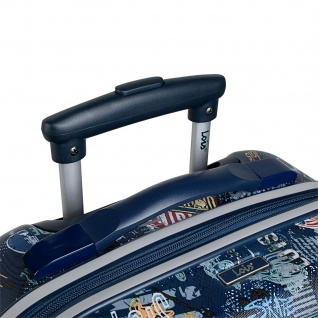 Lois Hartschale Kinderkoffer 55 Cm Bedrucktes ABS Kabinengepäck 130150 - Vorschau 2