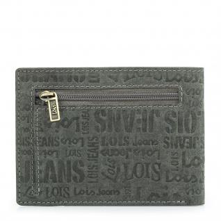 Lois Brieftasche Für Herren Portemonnaie Geldbörse Kartenhalter Echtleder Geldbörse Scheintasche 11708 - Vorschau 2