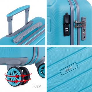 Hochwertig ABS Handgepäck. 4 Rollen. Praktisch, Bequem Und Leichter. USB-Anschluss In Der Kleinen Hängeschloss TSA. Klein Koffer. Hochwertiger Und Markenzeichen. 175050 - Vorschau 4