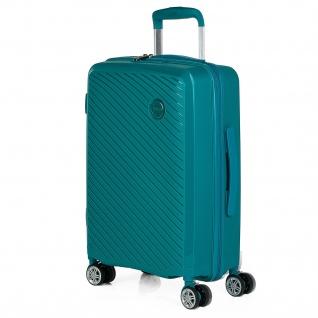 Itaca Hochwertig Polypropylen Handgepäck 55 Cm. 4 Rollen. Hartschalen. Reisekoffer. Reisegepäck. TSA Hängeschloss. Koffer 760050