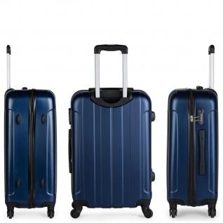Itaca 2Er Hartschale Kofferset ABS. 4 Rollen. Reisekoffer. Reisegepäck. 2 Große: Kabine Und Mittlere Koffer 771115 - Vorschau 4