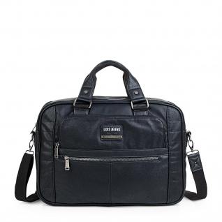 Lois Aktentasche Unisex Laptop 15 Handtasche Messenger Bag Arbeitstasche Businesstasche 96540 - Vorschau 4