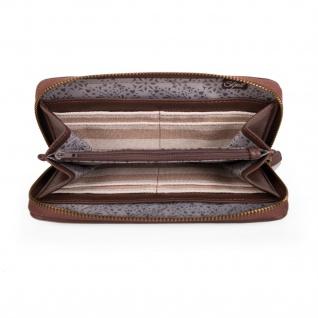 Portmonnaie Für Damen Geldbeutel Brieftasche Geldtasche Qualität Und Design 25601 - Vorschau 3