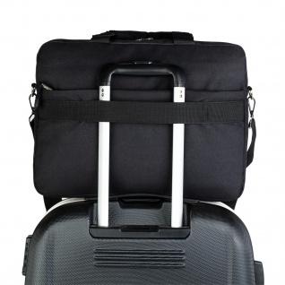 Tempo Aktentasche Für Herren. Handtasche. Messenger Bag. Laptop 15. Arbeitstasche. Lässiges Design. Praktisch. Businesstasche. 801040 - Vorschau 4