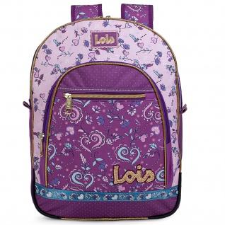 Lois Rucksack Für Schüler Oder Reisen Backpack 130201 - Vorschau 3