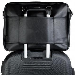 JASLEN Aktentasche Für Herren. Handtasche. Messenger Bar. Laptop 15. Arbeitstasche. Lässiges Design. Praktisch. Businesstasche. 305640 - Vorschau 4