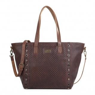 Lois Handtasche Für Damen Shopping Hobo Bag Henkeltasche Elegant Schultertasche 9638 - Vorschau 4