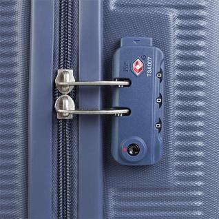Hartsreisenkoffer 54 Cm ABS. 4 Rollen. Kabinengepäck. Handgepäck. Robuster, Bequem Und Leichter. Low Cost Ryanair, Hochwertiger Und Markenzeichen. 171050 - Vorschau 3