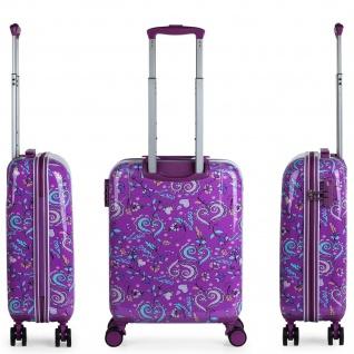 Lois Hartschale Kinderkoffer 55 Cm Bedrucktes Kaschmir Design Handgepäck 130250 - Vorschau 4