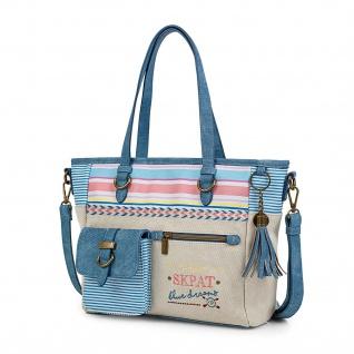 SKPAT Henkeltasche Für Damen Schultertasche Handtasche Shopping Tote Bag 302581