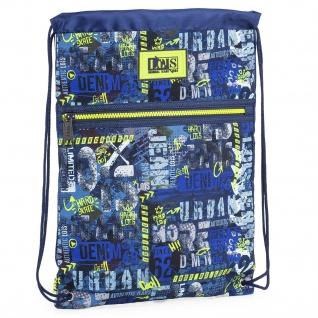 Rucksack. Tasche Mit Henkeln. Spitzenverschluss. Gymsack Praktisch, Widerstandsfähig, Leicht Und Funktionell. Graffiti-Skate 131741