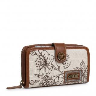 Skpat Portmonnaie Für Damen Geldbeutel Brieftasche Geldtasche 301616