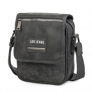 Lois Umhängetasche Für Herren Messenger Bag Shultertasche Kuriertasche 96516 - Vorschau 5