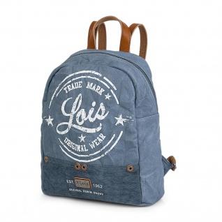Lois Kleine Rucksack Für Damen Tragetasche City Rucksäcke Backpack 303099