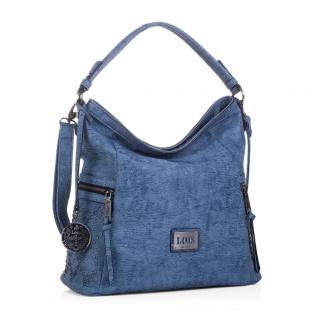 Lois Henkeltasche Für Damen Hobo Bag Schultertasche Umhängetasche Einkauftasche Mit Schlüsselbund 93970