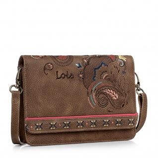 Lois Mini Tasche Für Damen Praktisch Schultertasche + Gürteltasche 302635