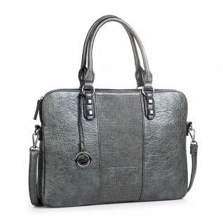 Lois Messenger Bag Dokumentenhalter 15 Laptop Aktentasche Schultertasche Arbeitstasche Kunstleder 94737
