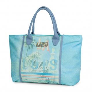 Lois Einkauftasche Bedruckte Segeltuch Tote Bag Strandtasche 09605
