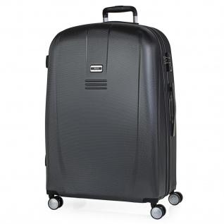 JASLEN Großer XL Hartschalen Reisekoffer 75Cm ABS Reisegäpack 56570
