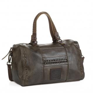 Lois Handtasche Für Damen Bowling Bag Schultertasche Umhängetasche Henkeltasche Geräumig 92831