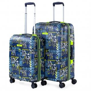 Starrer Gepäcksatz. 4 Räder. 55/66 Cm ABS. Langlebig Und Leichtgewichtig. TSA-Sperre. Kleine Und Mittlere Kabine. Markenqualität Und Design 131700
