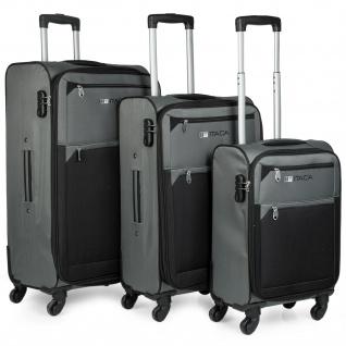 3Er Kofferset Erweiterbar 54/67/78 Cm EVA-Polyester. 4 Rollen. Handgepäck. Reisekoffer. 701000