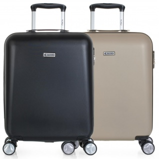 Itaca 2Er Hartschale Reisekoffer 55X40x20 Cm ABS, 4 Rollen. Kabinengepäck. Handgepäck. Reisegepäck. Boardcase. Koffer. T58050P