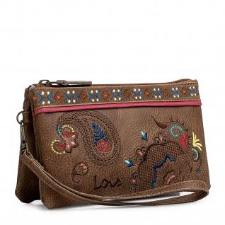 Lois Portmonnaie Für Damen Mit Handgriff Geldbeutel Brieftasche Geldtasche. 302619