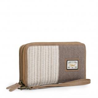 SKPAT Portmonnaie Für Damen Mit Handgriff Geldbeutel Brieftasche Geldtasche 301717