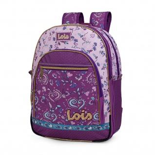 Lois Rucksack Für Schüler Oder Reisen Backpack 130201
