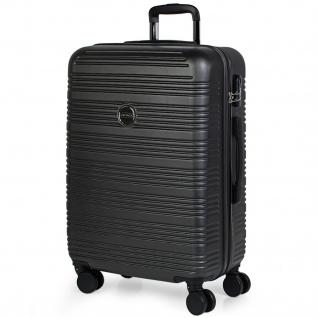 Itaca Mittlerer Hartschale Reisekoffer 68Cm ABS. 4 Rollen. Hart, Praktisch, Robust Und Leicht. Gute Qualität. Schönes Design. T72160