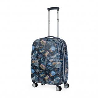 Lois Hartschale Kinderkoffer 55 Cm Bedrucktes ABS Kabinengepäck 130150 - Vorschau 1