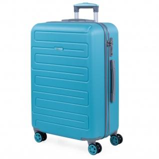 Hochwertig ABS Handgepäck. 4 Rollen. Praktisch, Bequem Und Leichter. Hängeschloss TSA. Mittel Koffer. Hochwertiger Und Markenzeichen. 175060