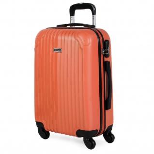 Itaca Hartschale Reisekoffer 55 Cm ABS, 4 Rollen. Kabinengepäck. Handgepäck. Robuster, Bequem Und Leichter. Reisegepäck.. T71550