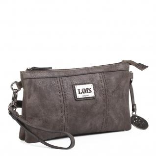 Lois Schultertasche Für Damen Mit Handgriff Umhängetasche Handtache Abendtasche Elegant 93089