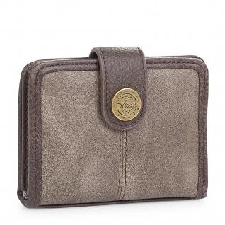 SKPAT Kartentasche Für Damen Geldbörse Mit Schnappverschluss Geldtasche Kartenhalter 95403