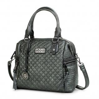 Lois Umhängetasche Für Damen Bowling Bag Handtasche Schultertasche Elegant 94831