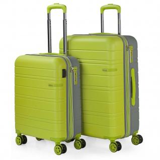 Satz Mit 2 Koffer 4 Rädern. ABS. USB. Dehnbar, Hart, Bequem Und Leicht. TSA-Sperre. Kleine Und Mittlere. Qualität Und Marke 171215