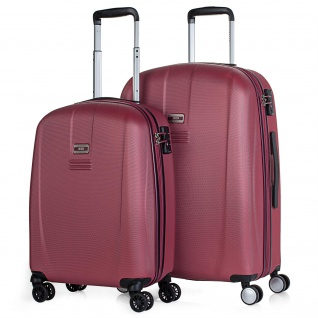 JASLEN 2Er Hartschalen Kofferset Reisekoffer 56515