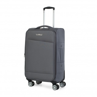 JASLEN Mittlerer Reisekoffer 67Cm EVA-Polyester Weich Robust Und Leicht Handgepäck 101060