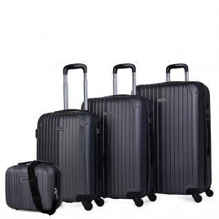 Set 3 Koffer Und Schönheit Fall 4 Räder ABS. Starr Und Leicht. Vorhängeschloss. Extensible. Klein, Mittel Und Groß T71500B