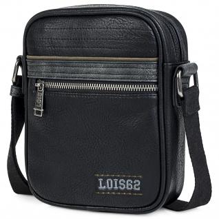 Lois Umhängetasche Für Herren. Messenger Shultertasche. Reißverschluss. Kuriertasche. Praktisch. 305316