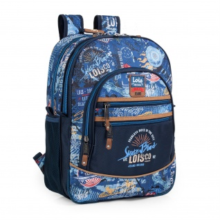 Lois Rucksack Für Schüler Oder Reisen Backpack 130101
