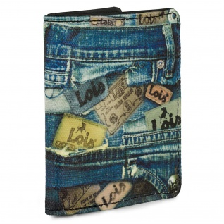 Brieftasche Für Den Mann. Geldbörse, Karte Und Banknoten Fächer. RFID-SCHUTZ. 203602