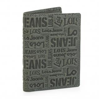 Lois Brieftasche Für Herren Leder Scheintasche Geldtasche Kartenhalter 11720